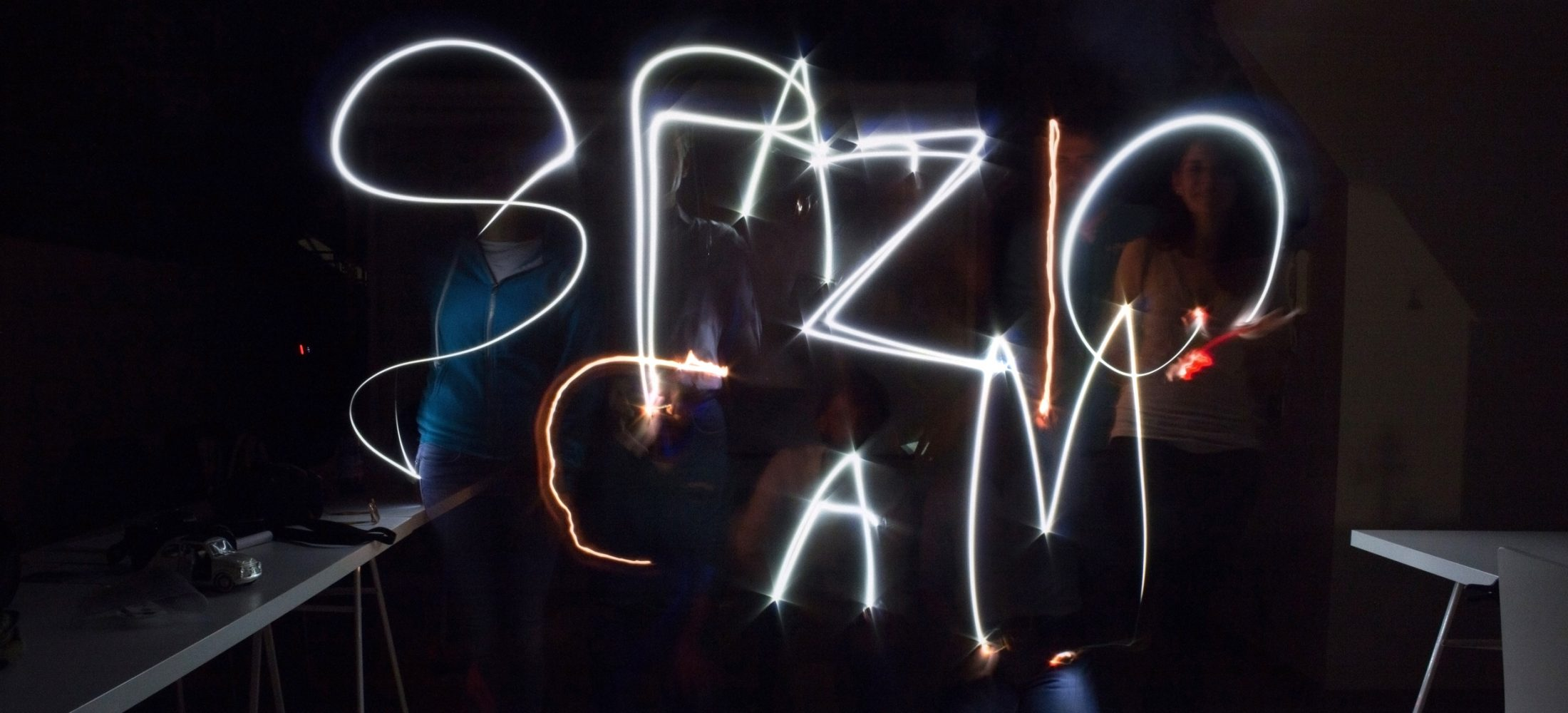 Spazio Cam light painting